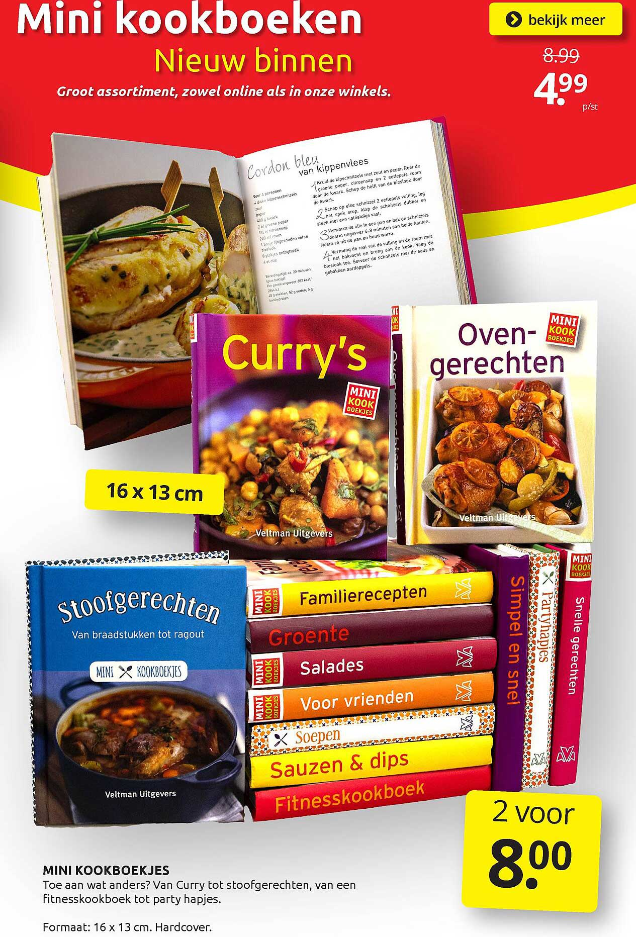 BoekenVoordeel Mini Kookboekjes