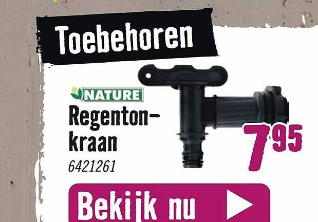 Hornbach Nature Regentonkraan