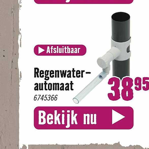 Hornbach Regenwaterautomaat