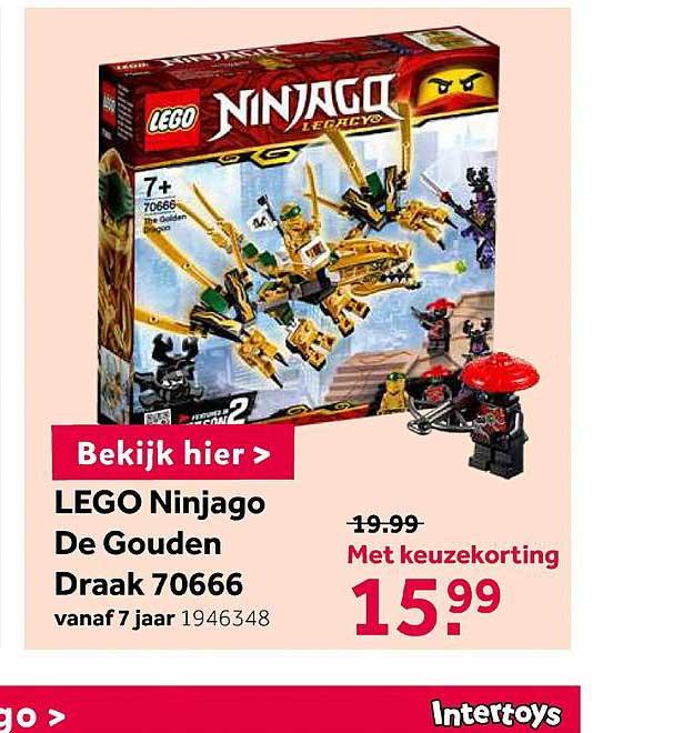 Intertoys Lego Ninjago De Gouden Draak 70666