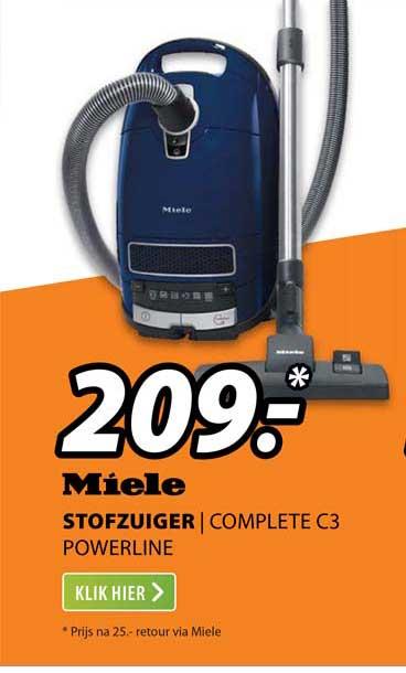 Expert Miele Stofzuiger | Complete C3 Powerline