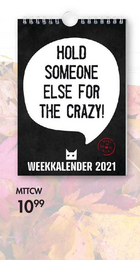 The Read Shop Mttcw Weekkalender 2021