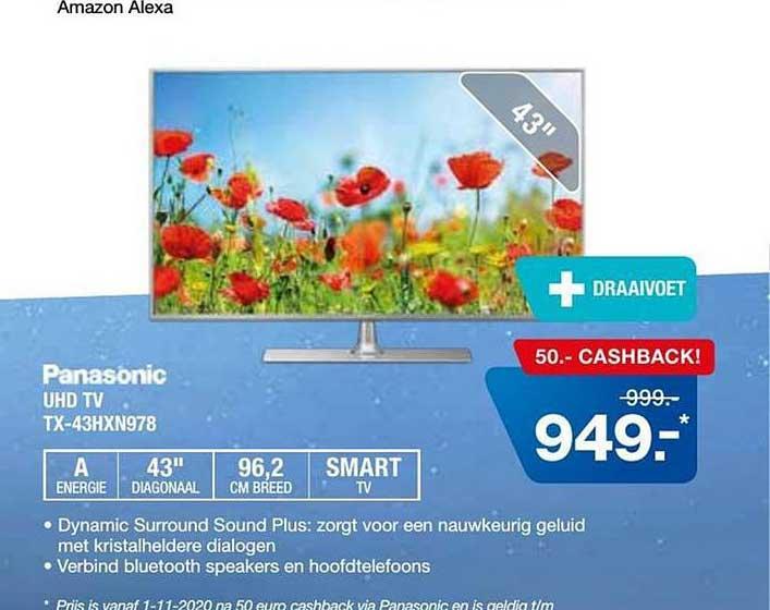 Electro World Panasonic UHD TV TX-43HXN978