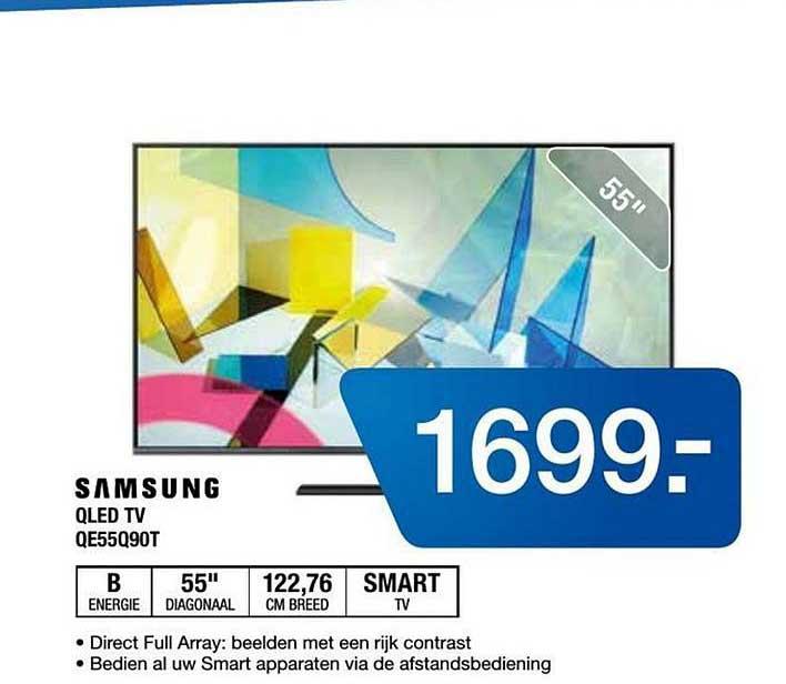 Electro World Samsung QLED TV QE55Q90T