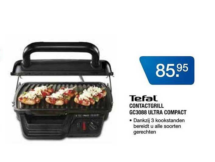 Electro World Tefal Contactgrill GC3088 Ultra Compact