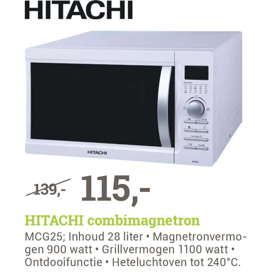 BCC Hitachi MCG25 Combimagnetron