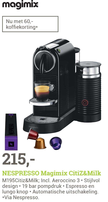 BCC Nespresso Magimix