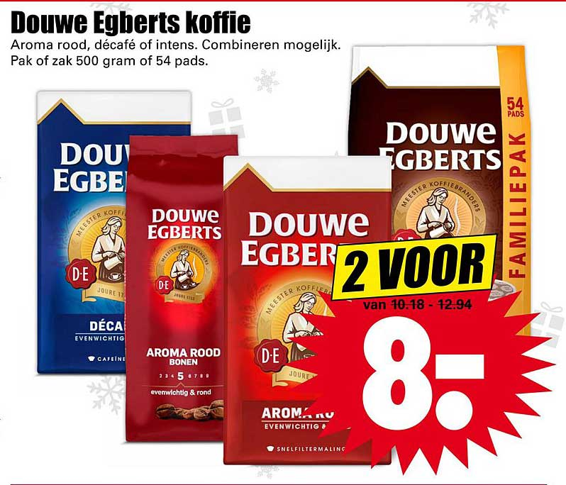 Dirk Douwe Egberts Koffie