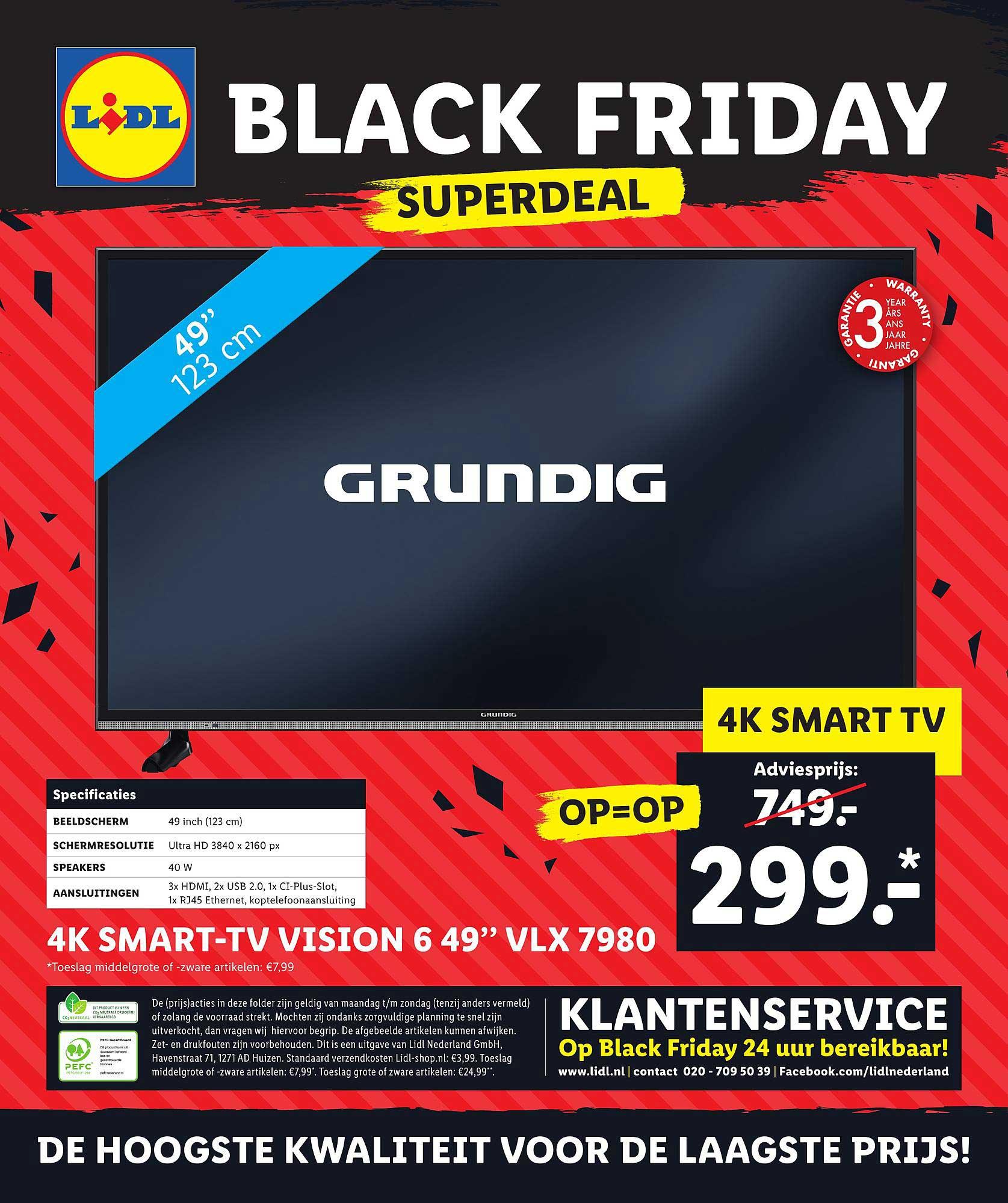 Lidl Shop 4k Smart Tv Vision 6 49