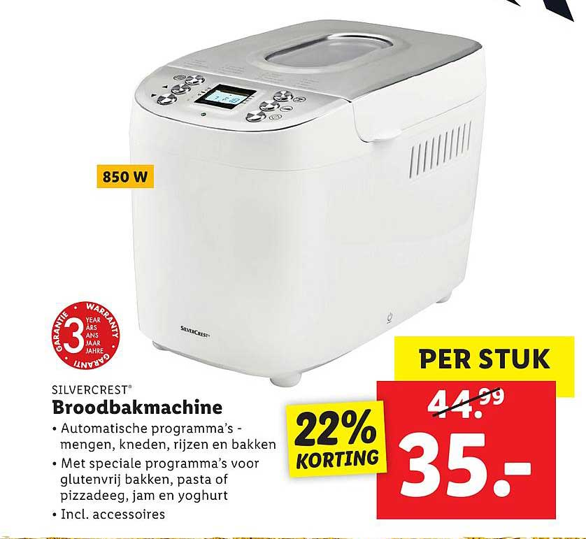 Lidl Shop Broodbakmachine
