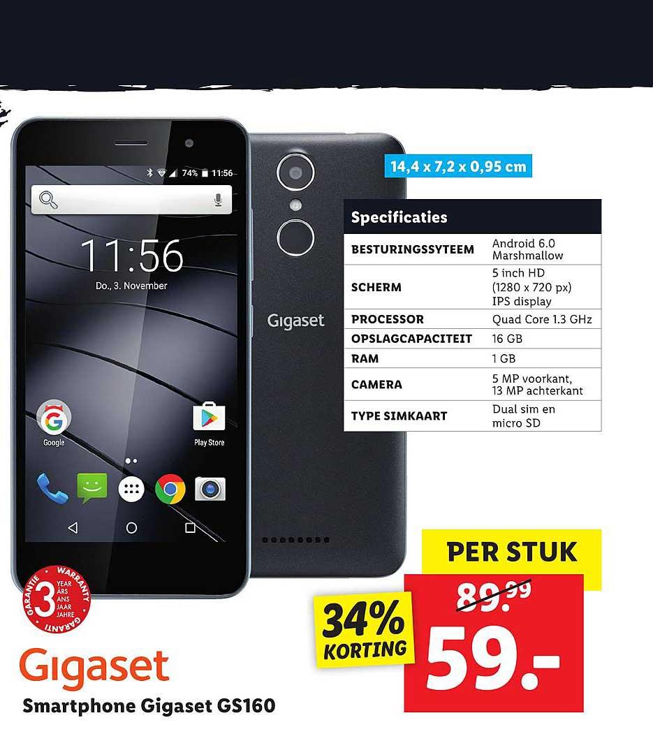 Lidl Shop Gigaset Smartphone GS160
