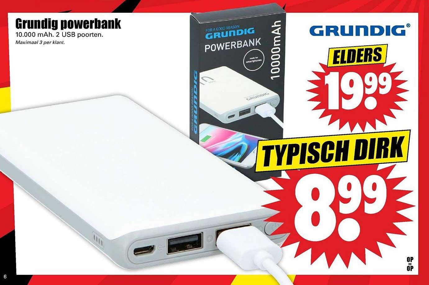 Dirk Grundig Powerbank