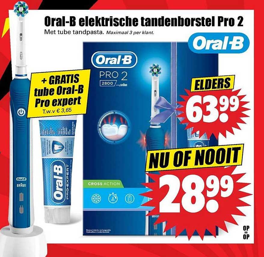 Dirk Oral B Elektrische Tandenborstel Pro 2