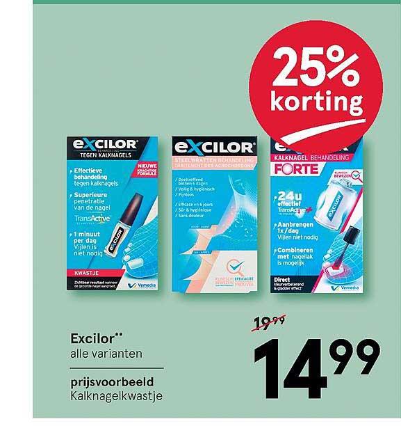 Etos Excilor 25% Korting