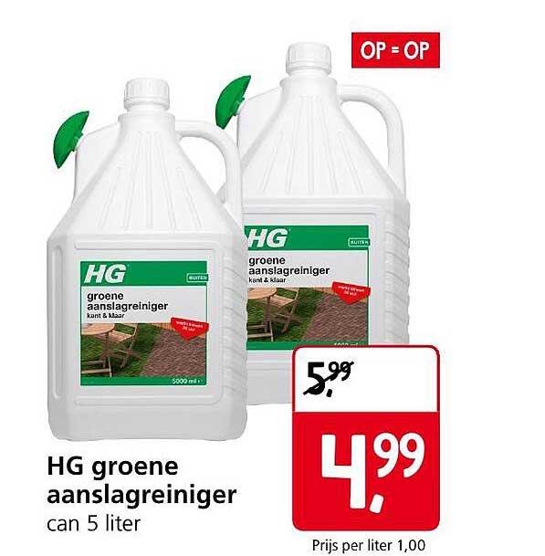 Jan Linders HG Groene Aanslagreiniger