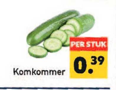 Tanger Markt Komkommer