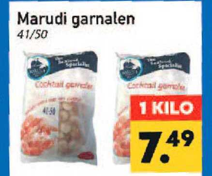 Tanger Markt Marudi Garnalen 41-50