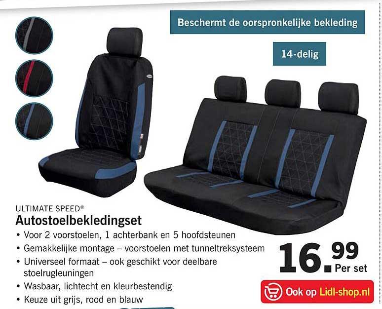 Autostoelbekledingset kopen?   LIDL