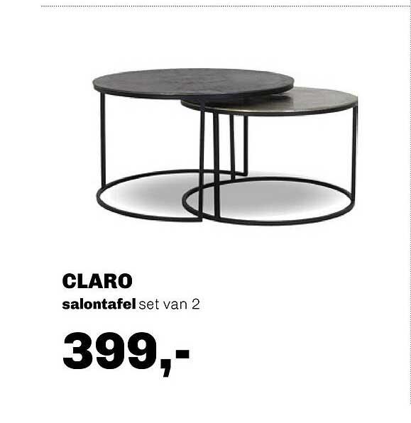 Trendhopper Claro Salontafel