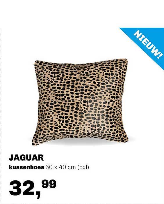 Trendhopper Jaguar Kussenhoes