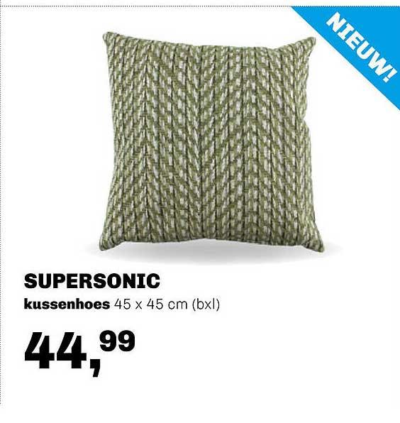 Trendhopper Supersonic Kussenhoes