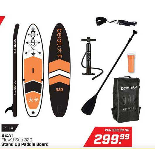 DAKA BE:AT Flow'd Sup 320 Stand Up Paddle Board