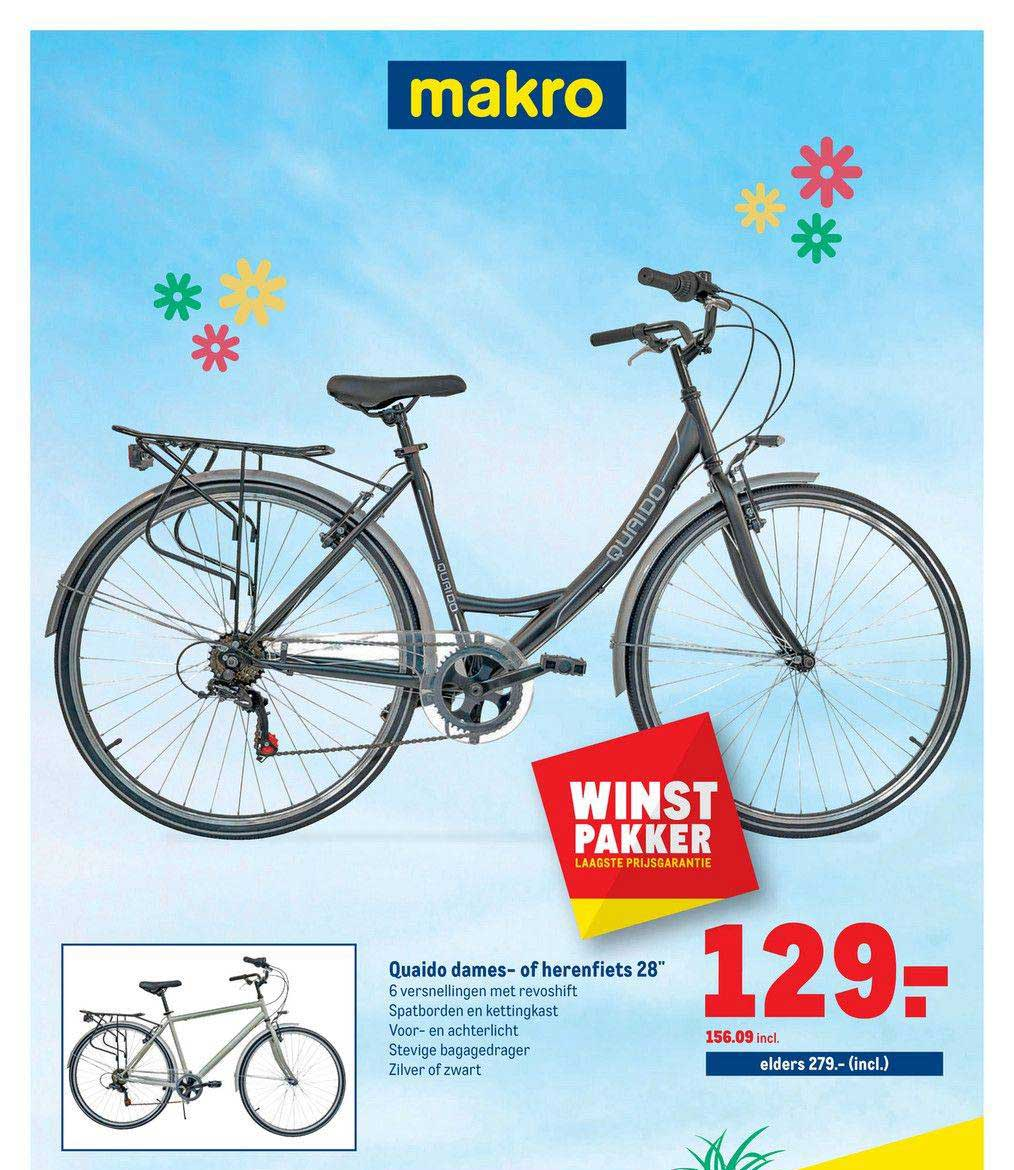 Makro Quaido Dames- Of Herenfiets 28