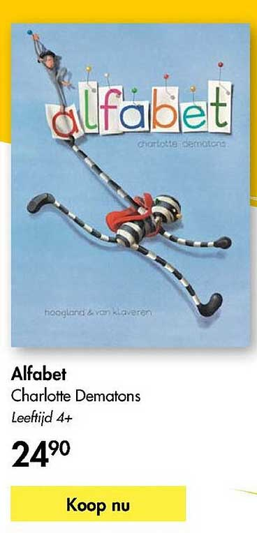 The Read Shop Alfabet Charlotte Dematons