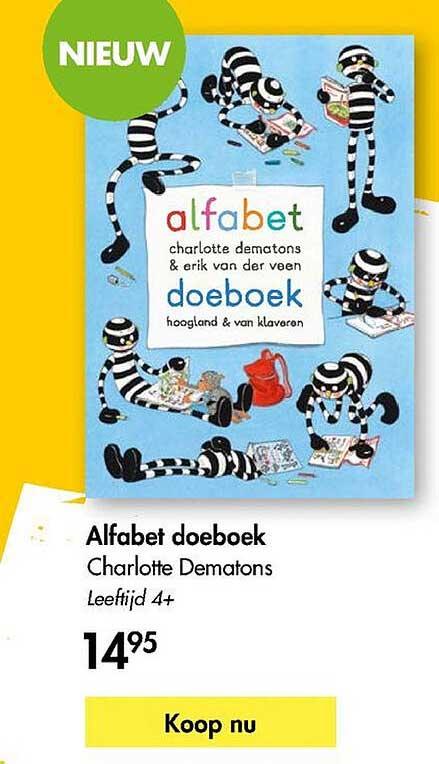 The Read Shop Alfabet Doeboek Charlotte Dematons