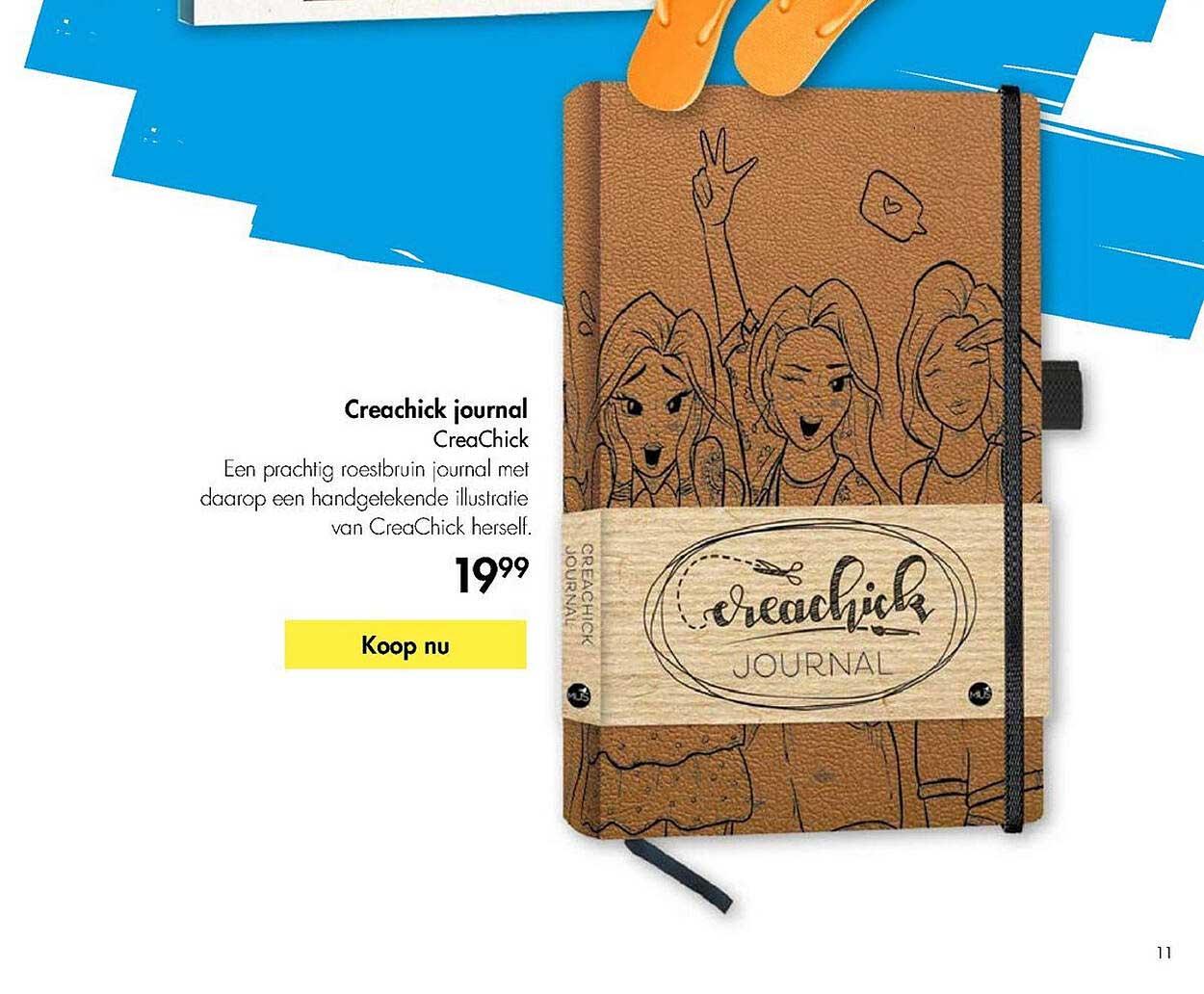 The Read Shop Creachick Journal - CreaChick