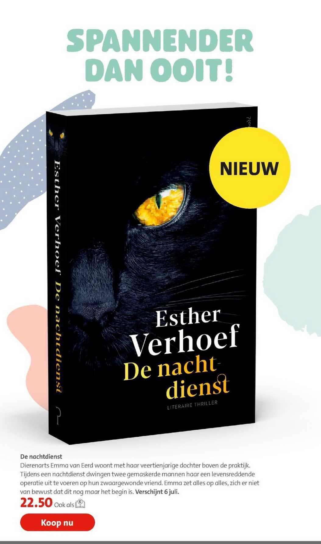 Bruna De Nachtdienst - Esther Verhoef