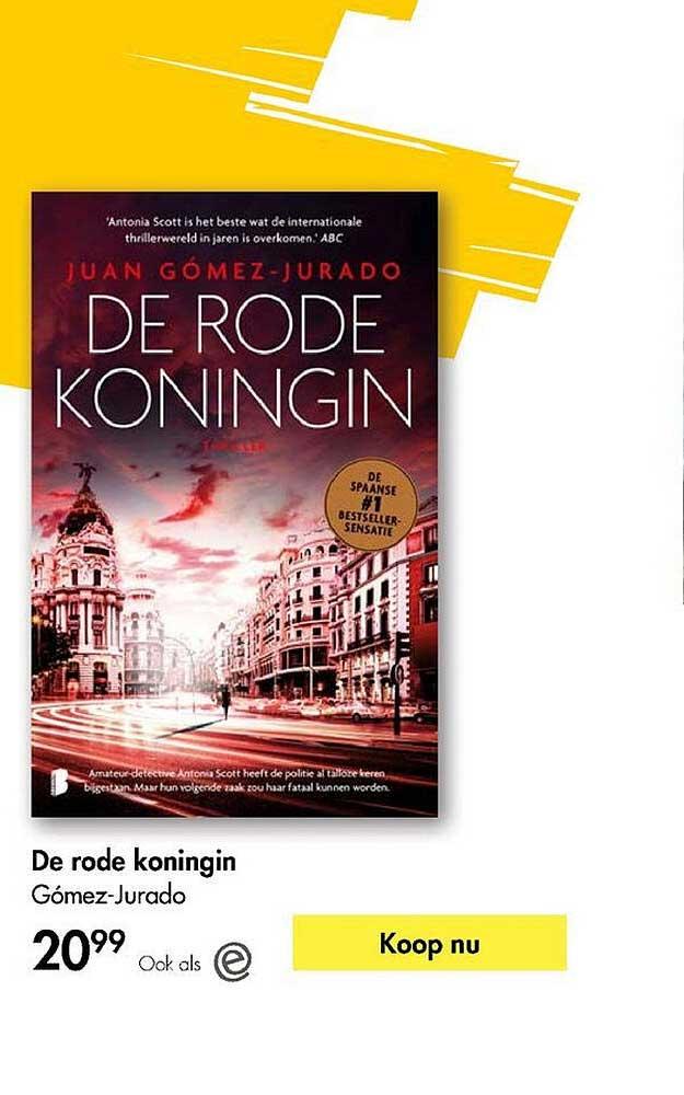The Read Shop De Rode Koningin Gómez-Jurado