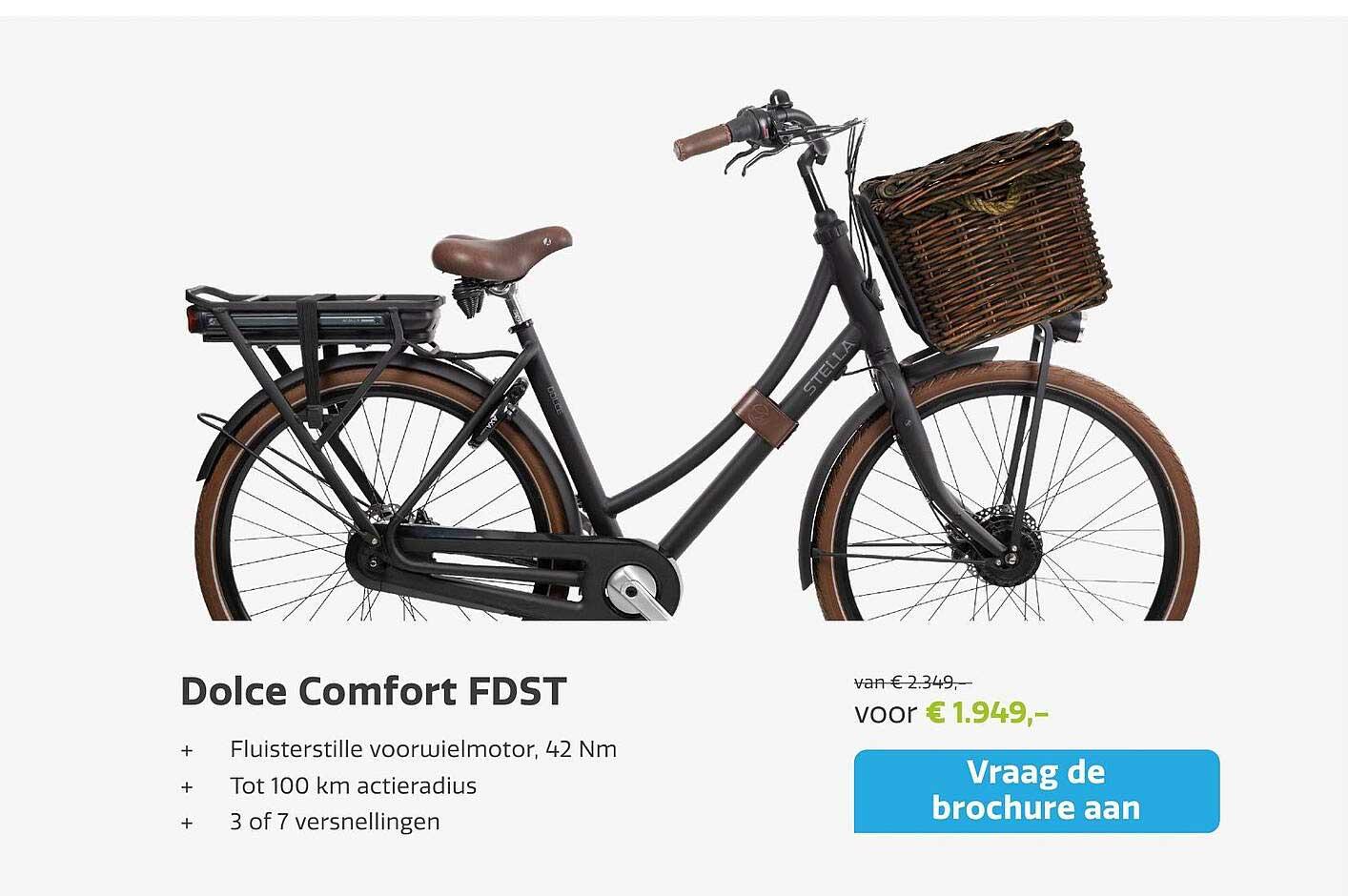 Stella Fietsen Dolce Comfort FDST Fiets