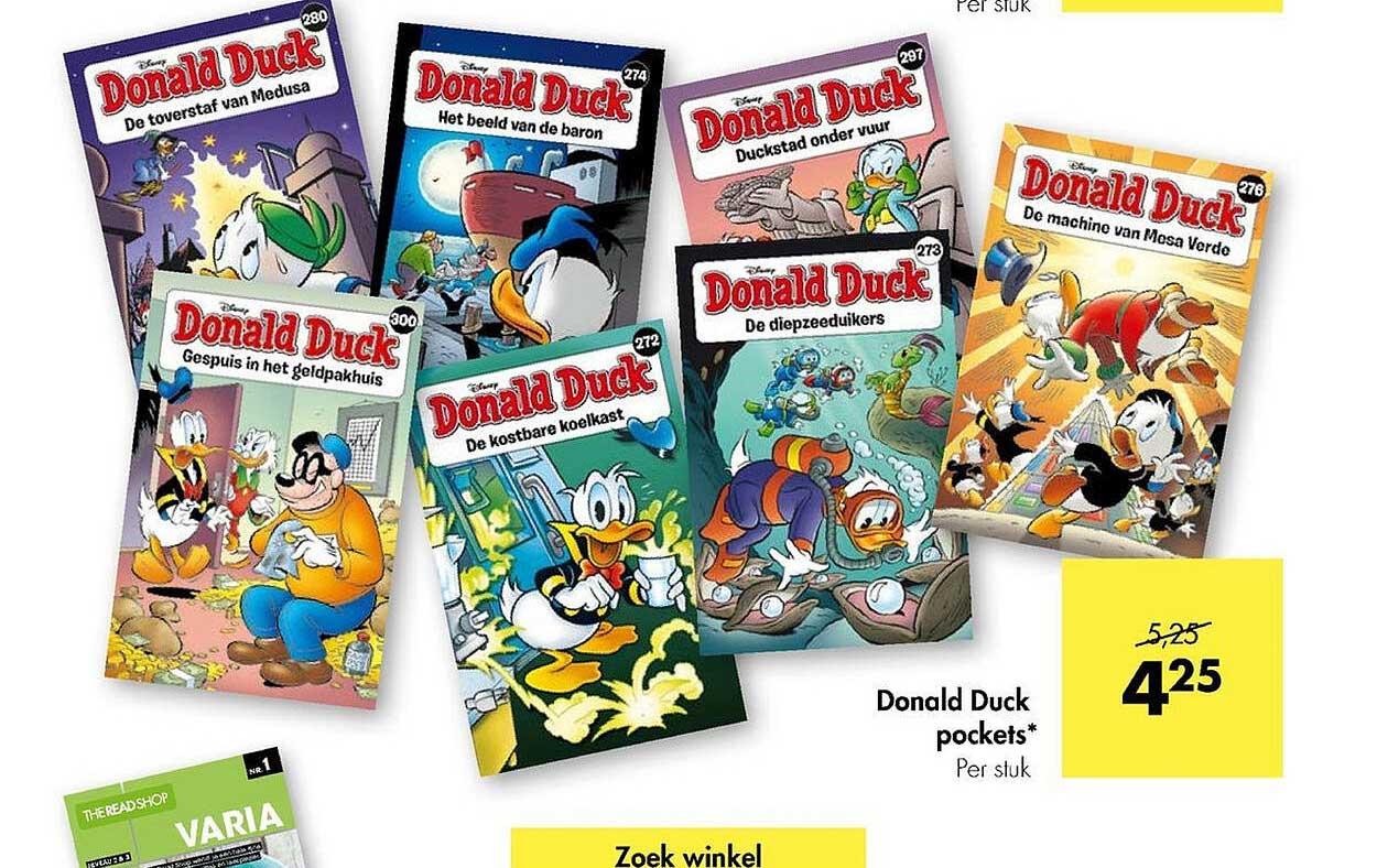 The Read Shop Donald Duck Pockets