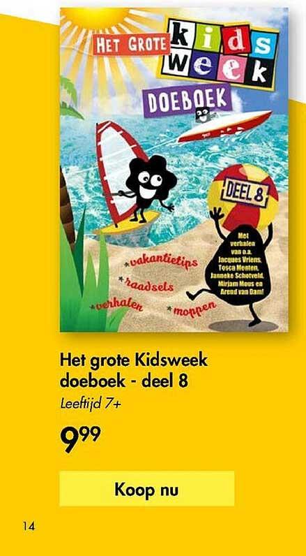The Read Shop Het Grote Kidsweek Doeboek - Deel 8