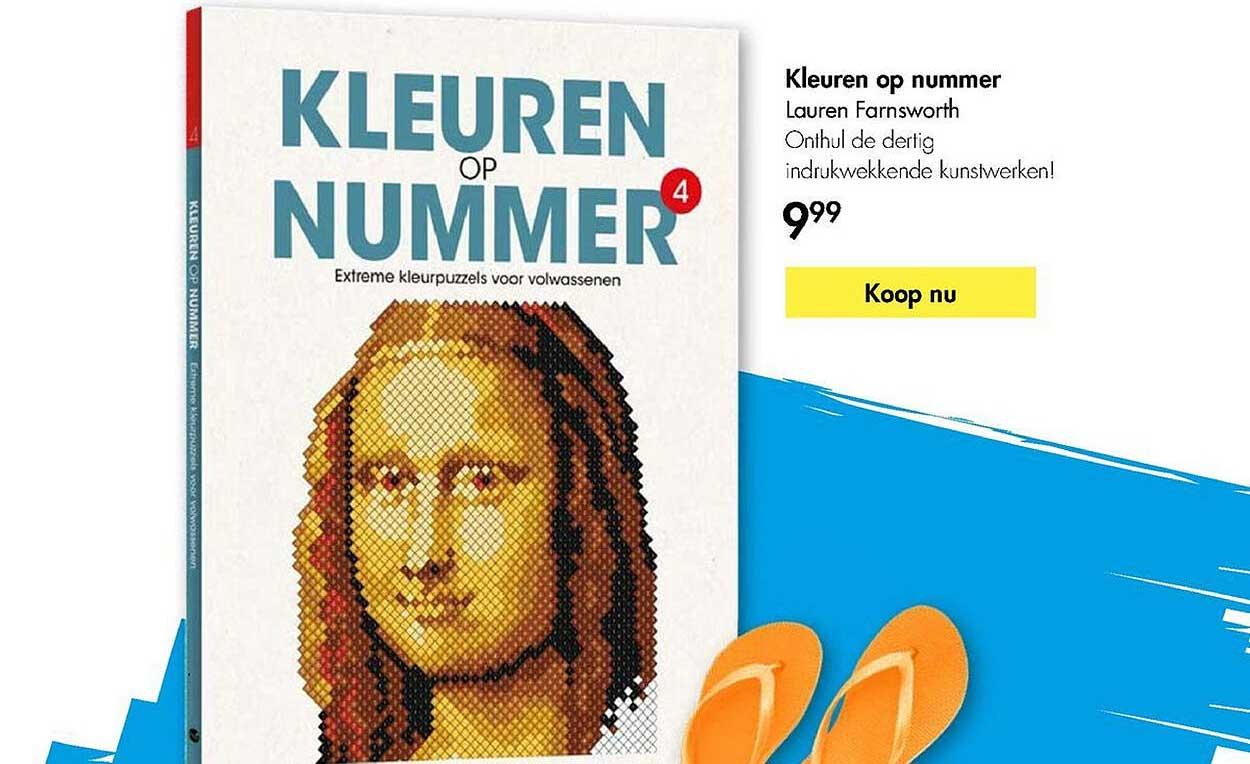 The Read Shop Kleuren Op Nummer - Lauren Farnsworth