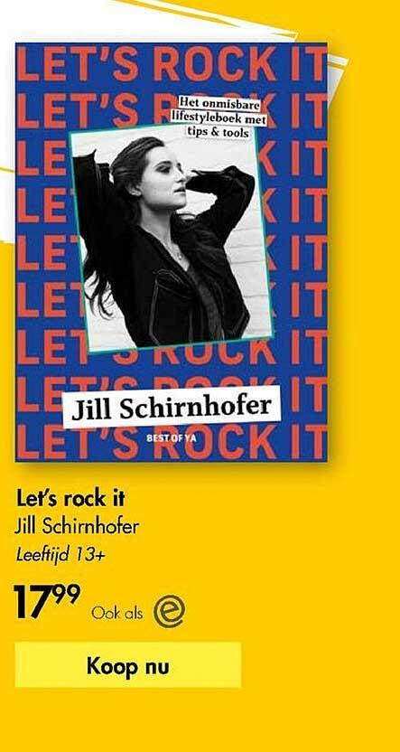 The Read Shop Let's Rock It Jill Schirnhofer