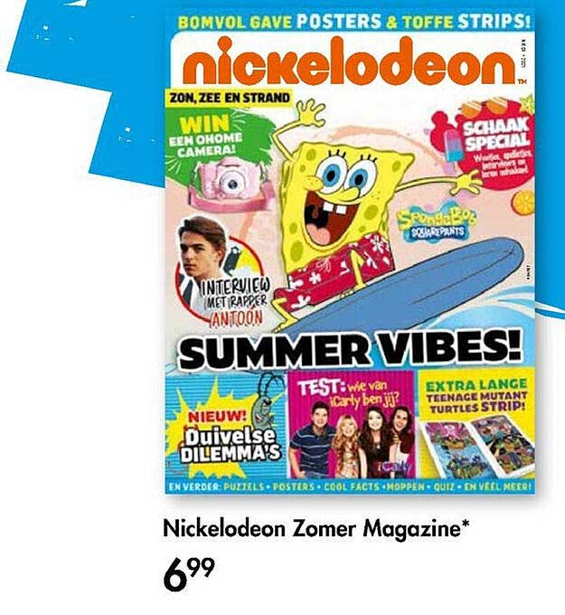 The Read Shop Nickelodeon Zomer Magazine