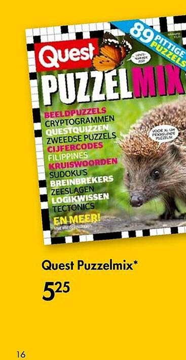 The Read Shop Quest Puzzelmix