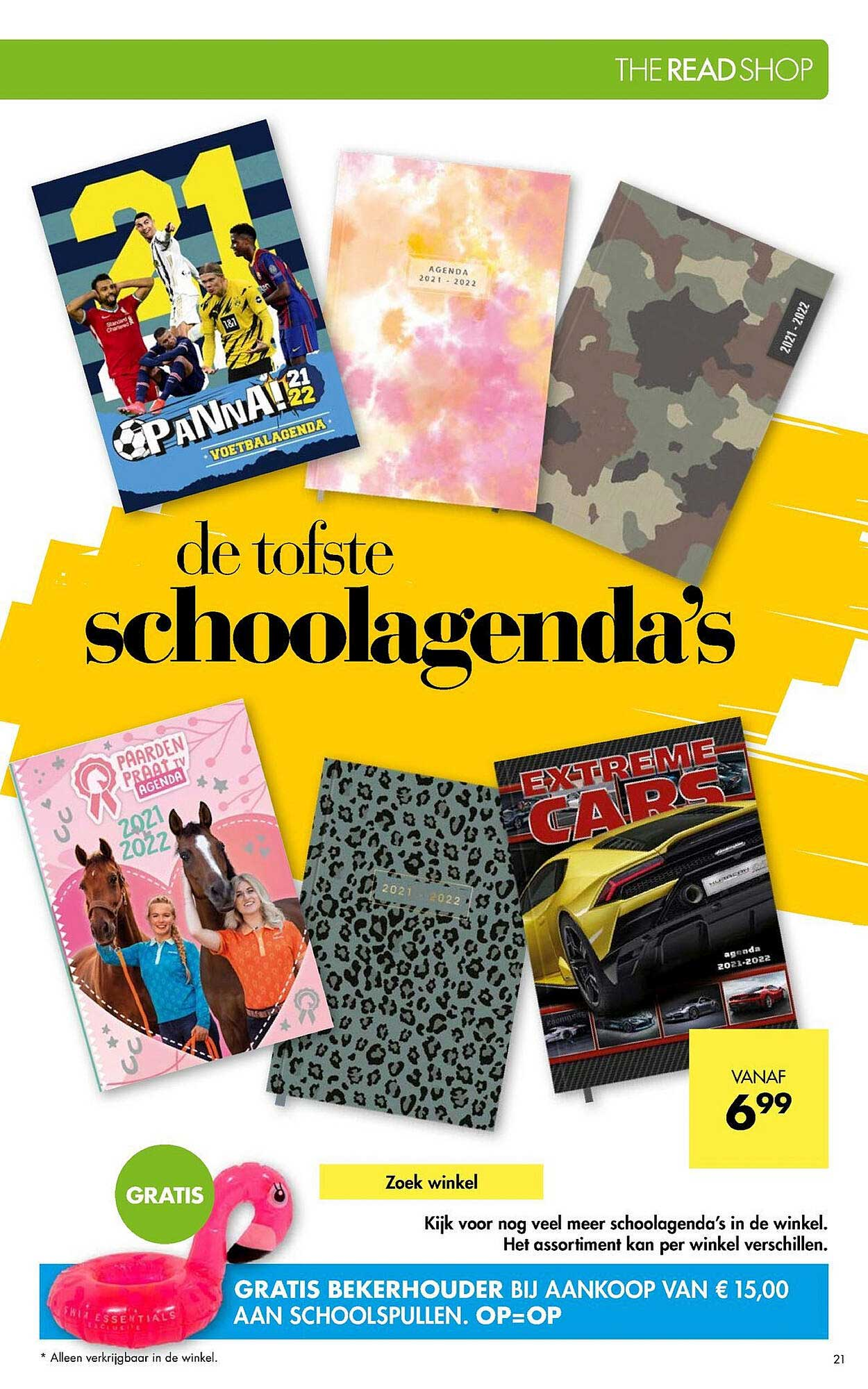 The Read Shop Schoolagenda's