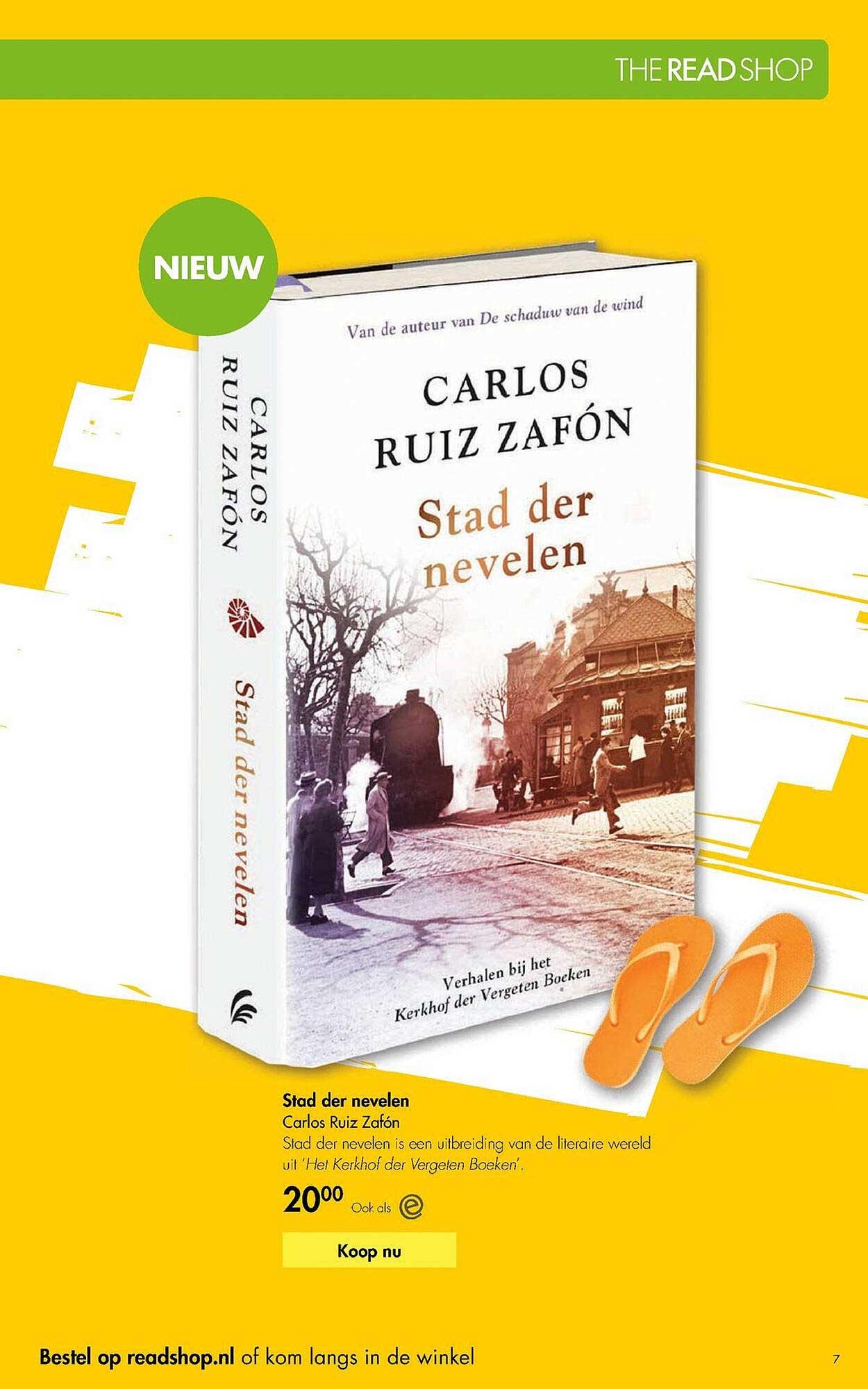 The Read Shop Stad Der Nevelen Carlos Ruiz Zafón