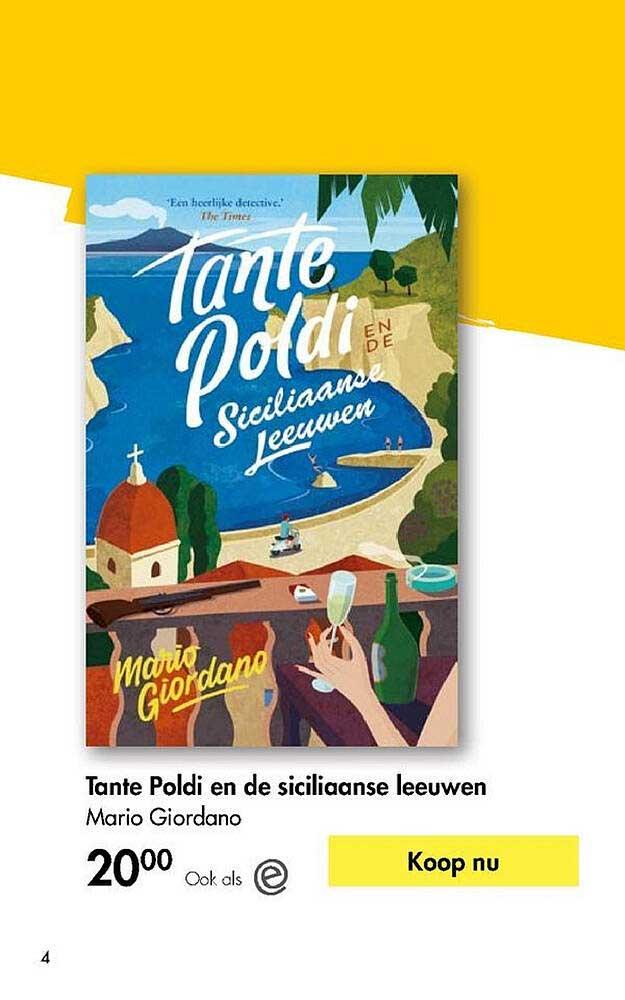 The Read Shop Tante Poldi En De Siciliaanse Leeuwen Mario Giordano