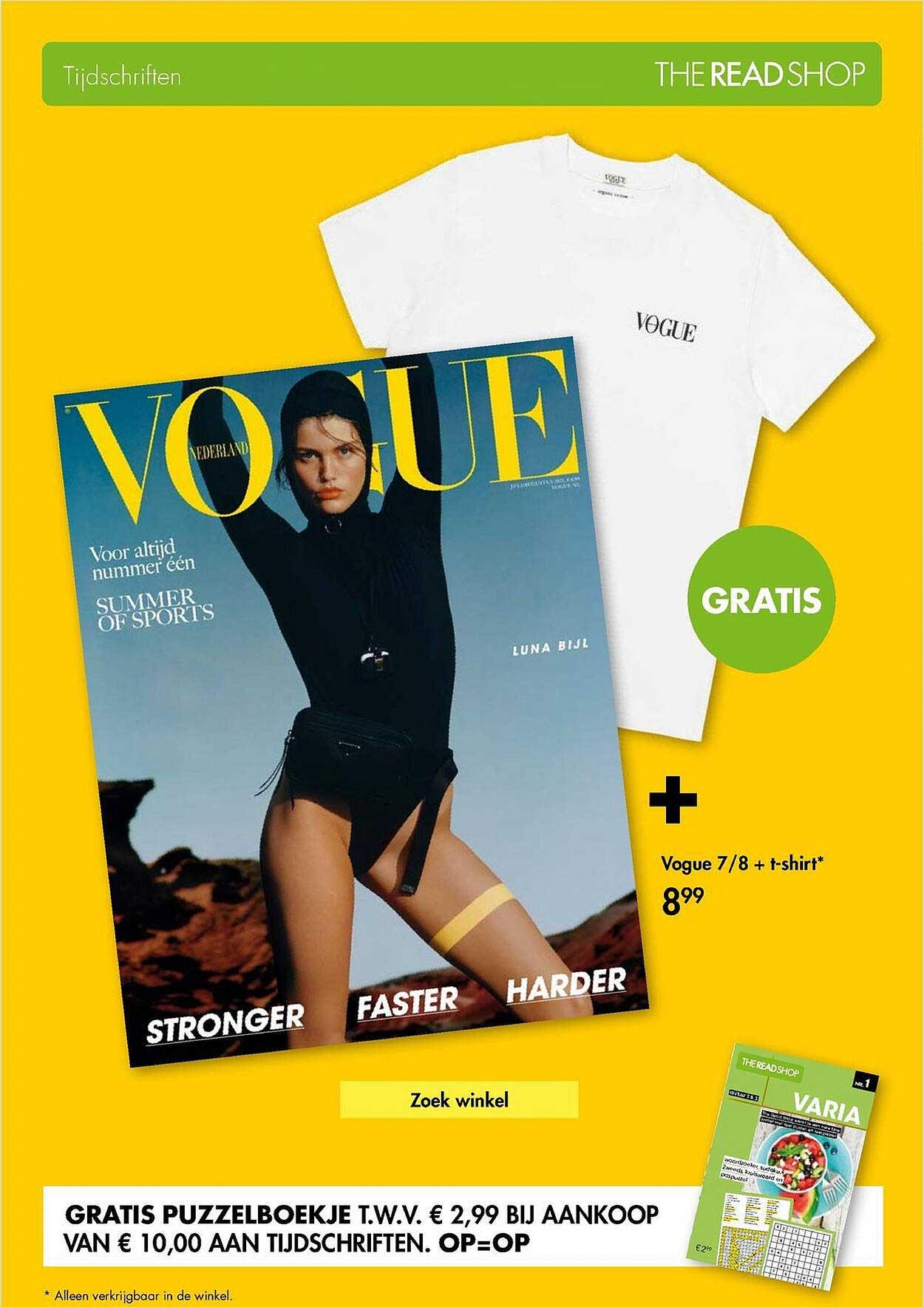The Read Shop Vogue 7-8 + T-Shirt