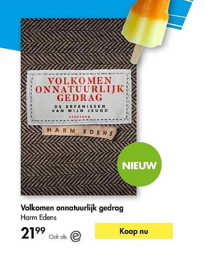 The Read Shop Volkomen Onnatuurlijk Gedrag - Harm Edens