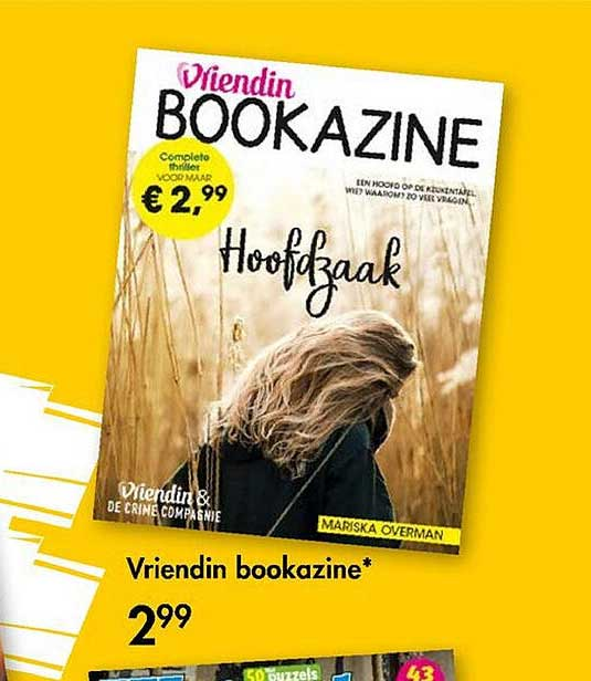 The Read Shop Vriendin Bookazine