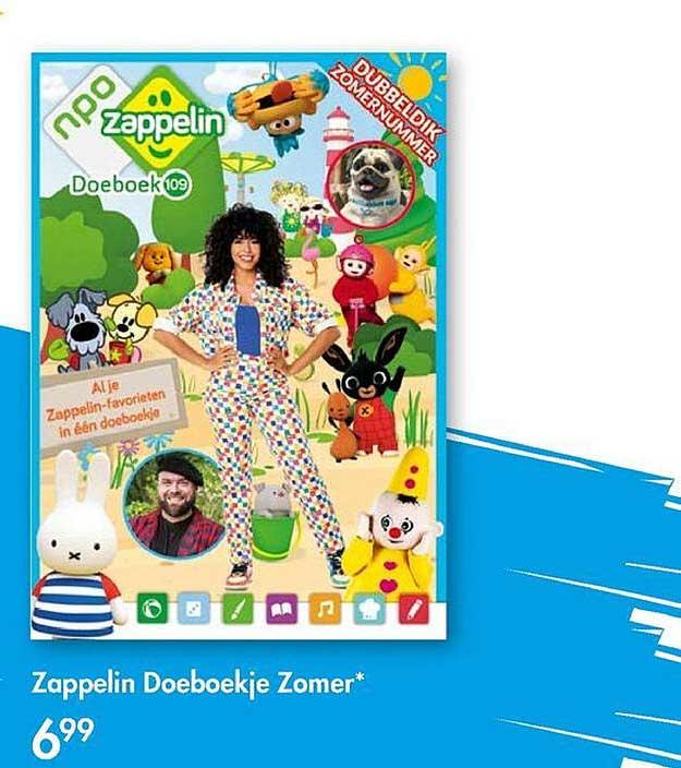 The Read Shop Zappelin Doeboekje Zomer