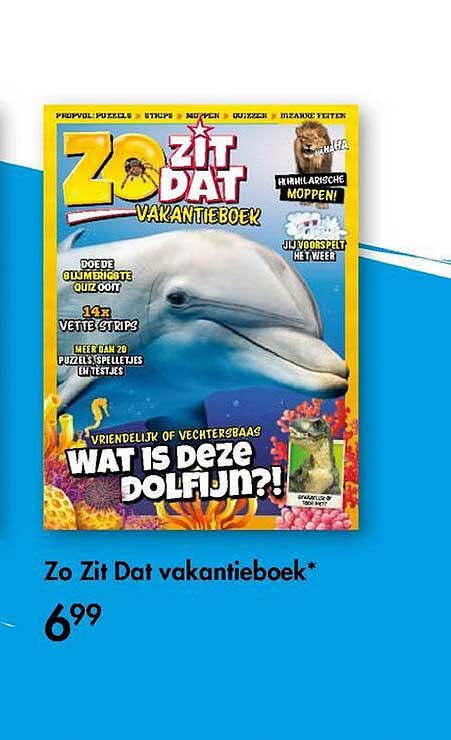 The Read Shop Zo Zit Dat Vakantieboek