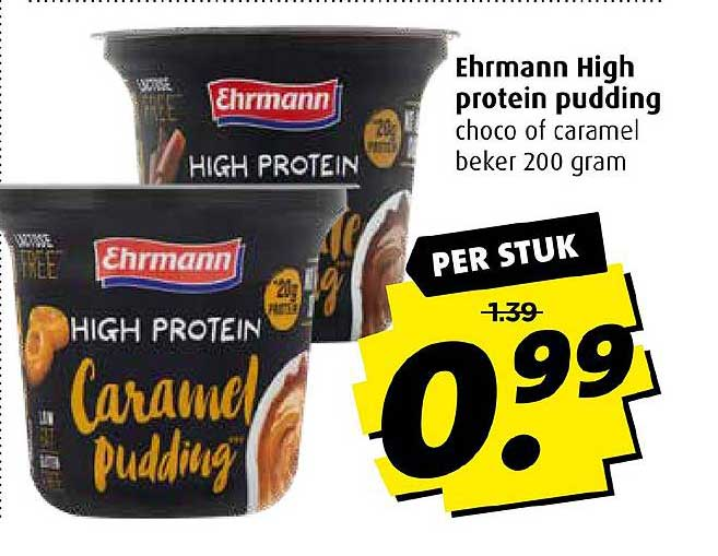 Boni Ehrmann High Protein Pudding