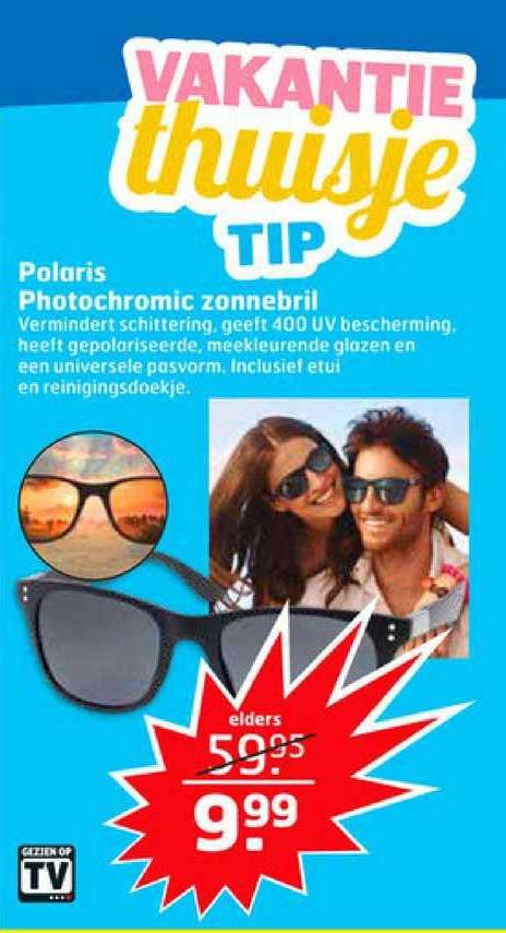 Trekpleister Polaris Photochromic Zonnebril