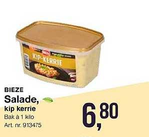 Bidfood Bieze Salade Kip Kerrie